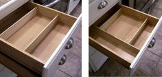 Quick and easy drawer dividers