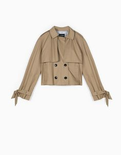At Stradivarius you'll find 1 Short trench for just 45.99 United Kingdom . Visit now to discover this and more Clothing.