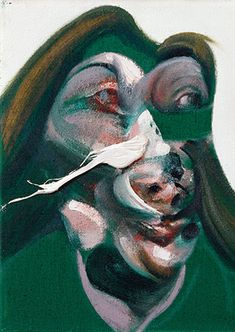 Study for Head of Isabel Rawsthorne, 1967 by Francis Bacon © The Estate of Francis Bacon. All rights reserved, DACS/Artimage Photo: Peter Schälchli Francis Bacon, History Of Philosophy, City Gallery, Famous Artists, Oil On Canvas, Modern Art, Old Things, Study, Portrait