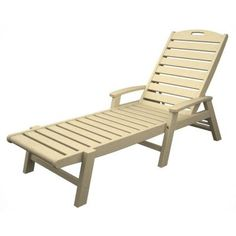 Trex Outdoor Furniture Yacht Club Sand Castle Stackable Chaise