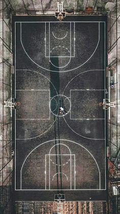 Aerial Basketball Playground in Shanghai by I Love Basketball, Basketball Pictures, Nba Basketball, Louisville Basketball, Street Basketball, Basketball Design, Basketball Fotografie, Jordan Logo Wallpaper, Basketball Background