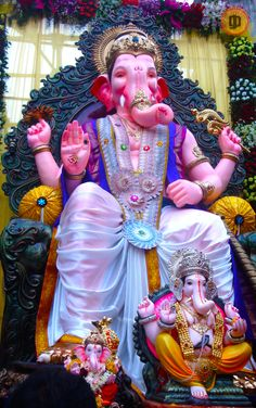 click by [gp designs]. Jai Ganesh, Ganesh Lord, Ganesh Idol, Shree Ganesh, Ganesh Statue, Lord Shiva, Pune Ganpati, Ganpati Festival, Festivals Of India