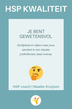 Gewetensvol - HSP kwaliteit #hsp #coaching #hoogsensitief Infj Mbti, Introvert, Coaching, Self Compassion, Dating Apps, No Time For Me, Personal Development, Burns, Life Quotes