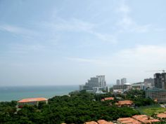 One Tower Condo Pattaya by The One Group Development 13th Floor View  © 2014 ALL RIGHTS RESERVED TO THE PROJECT DEVELOPER