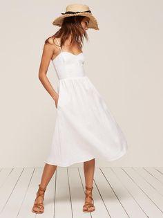 Olivia dress white 1 clp