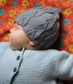 Madder   knitting Patterns  leila babe cap  3.50 Knitting For Kids ff4221ec5244