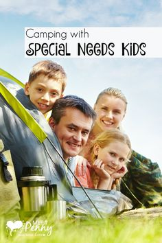 Ready to go camping with special needs kids? Check out these great tips and products...
