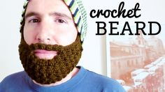 Fits all hats and beanies! Learn how to crochet a beard, step by step with this video tutorial. Easy and fun. For kids and grownups!  Thanks for subscribing:  ... . Crochet, Tutorial, Hat, Crochê, Tuto,