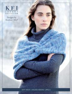 6ad90f79b7 Free knitting pattern. Pattern category: Shawls Wraps. Aran weight yarn.  300-