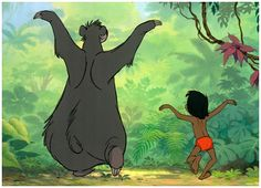 Animated Film Reviews: The Jungle Book (1967) - The Bear Necessities
