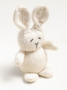 Rabbit by Susan B. Anderson - Available on Ravelry!