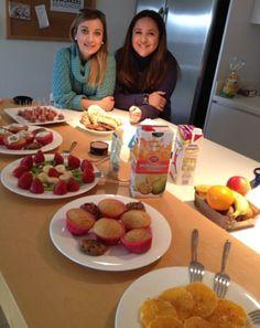 Las chicas de #Bisubox han preparado un desayuno muy especial y my sano!