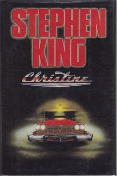 CHRISTINE (COVER ART) (Book) (UK)