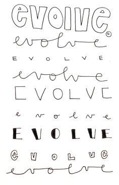 evolve. theninaproject1