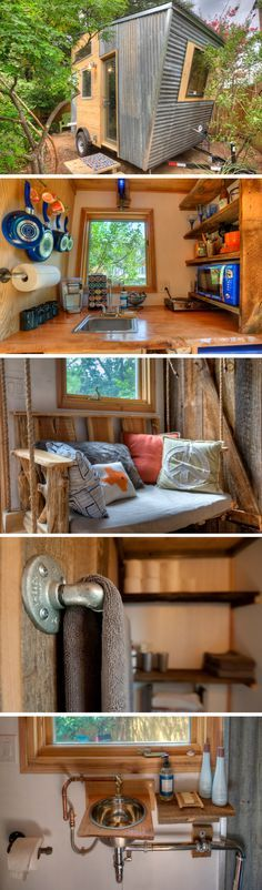 East-Austin tiny house by Rocky Mountain Tiny Houses. - Home Decors