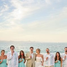 Wedding Gawker: Adorable Cabo San Lucas wedding with a Patron groom's cake, passport wedding invitations, lots of lovely details
