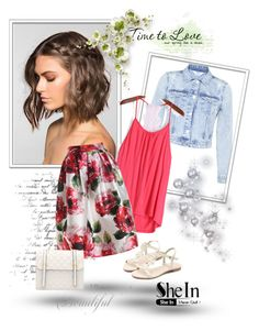 """""""SheIn 5/V"""" by nermina-okanovic ❤ liked on Polyvore featuring Miss Selfridge"""