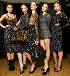Dolce & Gabbana Perfection And Polka Dots