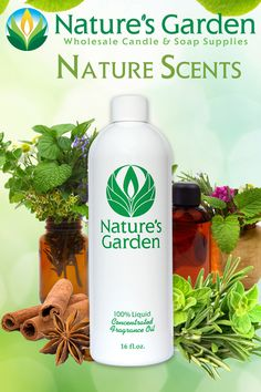 Nature Scents- Fresh Scents by Natures Garden