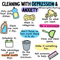 Cleaning with Depression: When you suffer from chronic illness or mental illness it can be really hard to find the energy or the motivation to clean. Mental And Emotional Health, Good Mental Health, Mental Health Matters, Mental Health Awareness, Anxiety Tips, Anxiety Help, Low Carb Raffaelo, Self Care Activities, Self Improvement Tips