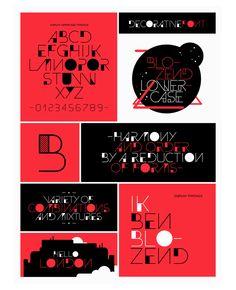 Plakate der Schule   Slanted - Typo Weblog und Magazin