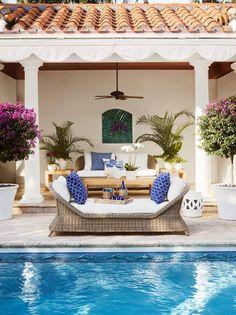 Aerin Lauder's Palm Beach House & Williams-Sonoma