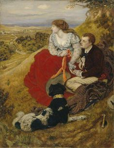 The Athenaeum - Byron's Dream (Ford Madox Brown - ), Manchester Art Gallery, 1874