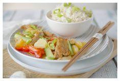 Zoetzure saus met rijst en groenten - JoorKitchen Cantaloupe, Fruit, Om, Food Cakes