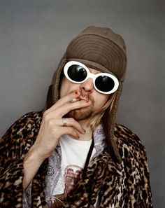 These pictures of Kurt Cobain were taken by Jesse Frohman. Soon after, Kurt committed suicide in 1994.