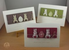 stampin up, card easter