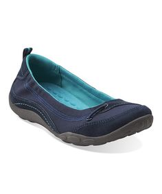 Another great find on #zulily! Navy Haley Cameo Flat #zulilyfinds