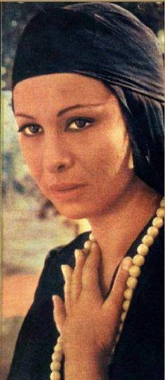 "Faten Hamama in the classic 1965 film ""El Haram"" (The Sin) http://www.youtube.com/watch?v=j1uHCZIMQFk"