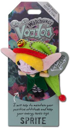 "Watchover Voodoo Dolls - Sprite ""I will help to maintain your positive attitude and keep your energy levels high"""