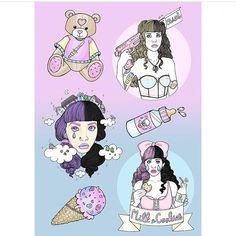 Melanie <3 Martinez // Fan Art by littlenans