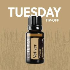Tuesday Tip-off! Before traveling for business or relaxation, take one to two drops of Vetiver with Lemon in a capsule for immune-supporting properties.