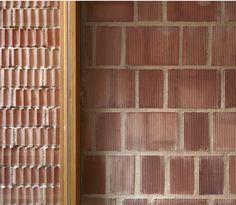 Gradolí and Sanz Arquitectos - Project - Ricart House - Brick Architecture, Architecture Details, Interior Architecture, Facade Design, Design Design, Vintage Interiors, Brick And Stone, Brickwork, Shop Interior Design