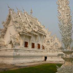 White Temple, Thailand.