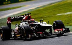 Lotus's Kimi Raikkonen cruises to victory in the opening grand prix of the 2013 season in Melbourne