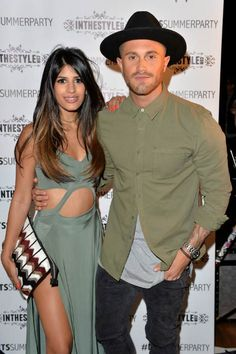 Jasmin Walia and Ross Worswick at the In The Style x Now Summer Party in July 2015...
