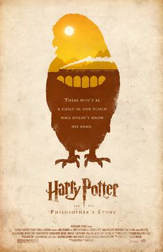 """Harry Potter and the Philosopher's Stone Fan Made Film Poster /// by Adam Rabalais"