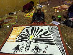 Our Studio | Mimi Art Gallery Linda Syddick Napaltjarri