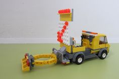 This highway hazard warning truck is based on the maintenance truck no 3179. When working on fast moving roads these trucks are used to warn traffic of hazards up ahead and di...