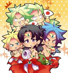 DBZ Broly all forms
