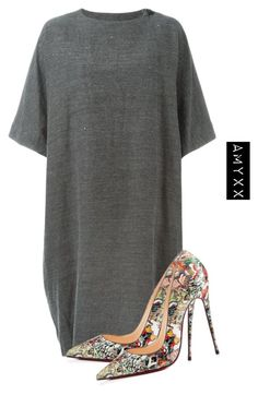 """#2825"" by nineteen92 ❤ liked on Polyvore featuring Arts & Science and Christian Louboutin"