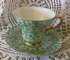 A personal favorite from my Etsy shop https://www.etsy.com/ca/listing/515473757/simply-stunning-porcelain-tea-cup-and