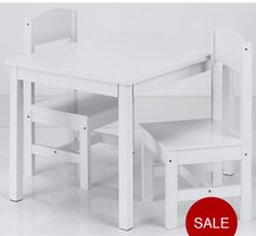 Mini table and chairs   http://www.very.co.uk/kidspace-kids-table-and-2-chairs/1025167508.prd