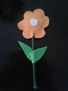 Flor  em e.v.a simples