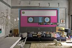 PIXERS Neon Wall Decals and Murals