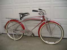 Research and identify American made vintage and antique bicycles from the through the Vintage Cycles, Vintage Bikes, Antique Bicycles, Retro Bicycle, Cruiser Bicycle, Old Bikes, Cool Bicycles, Bicycle Design, Tricycle