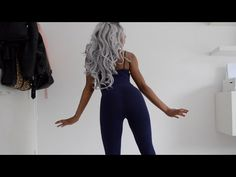 DIY TRANSFORMATION | LEGGING & TANK TOP INTO JUMPSUIT - YouTube
